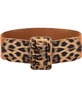 Leopard skin Belt