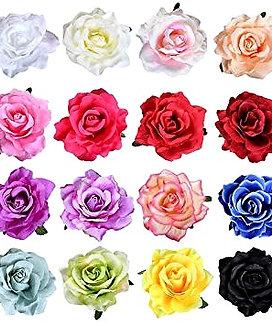 Roses Hair Clips