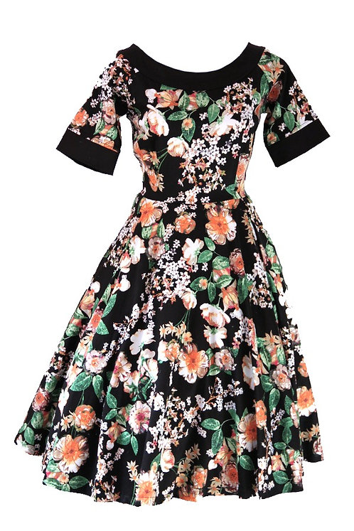 Ruby Dress Spring Floral 0187