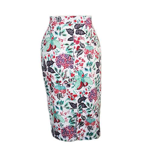 Rizzo Pencil skirt garden print