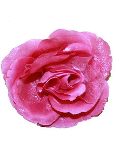Organza Hair Rose Pin