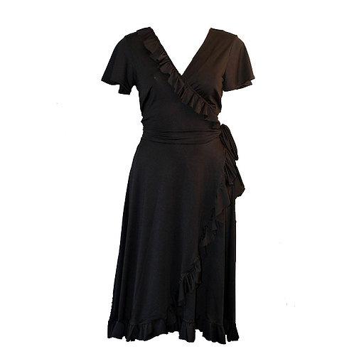 Sacha black dress 0200