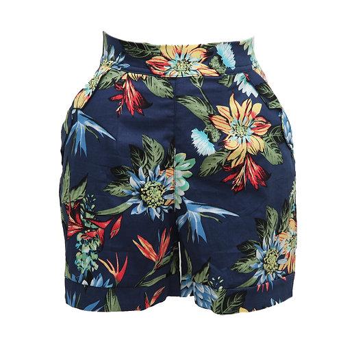January Shorts/ Tropical