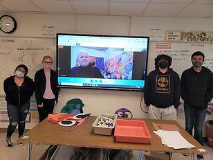 Ponus Ridge Classroom Students - 3-31-21