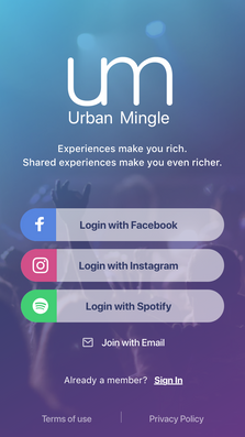 Urban Mingle App