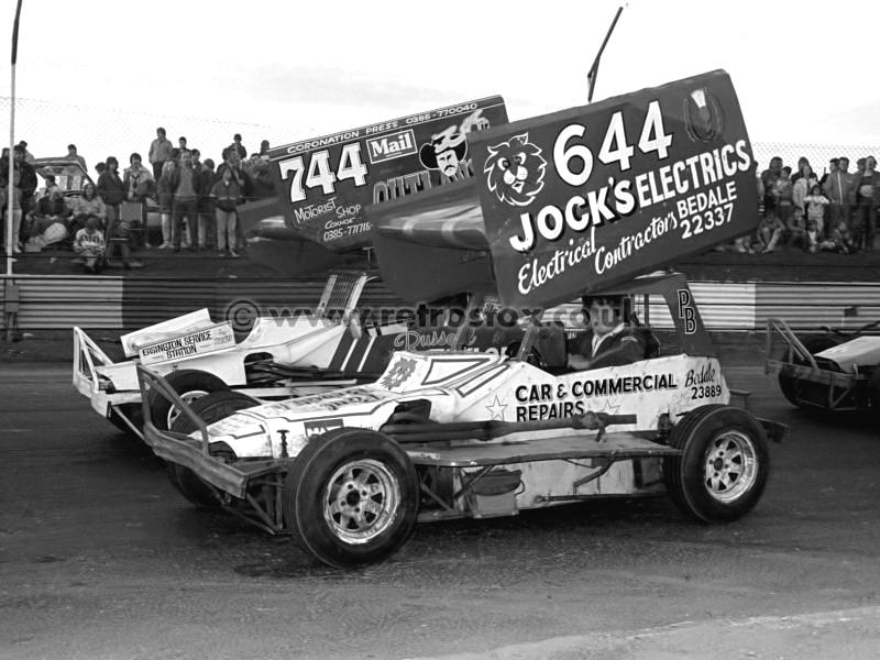 Paul Broatch & Russell Taylor Newtongrange 1986