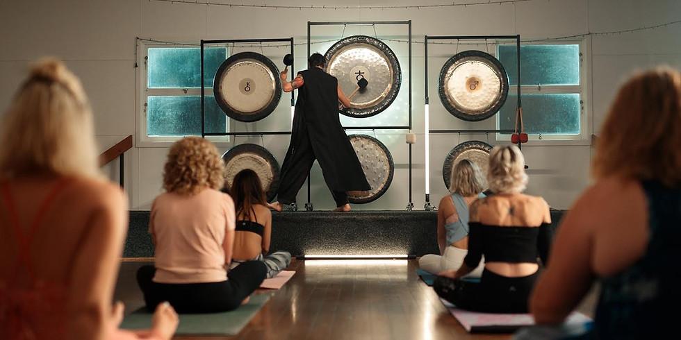 Gong Sound Meditation Event