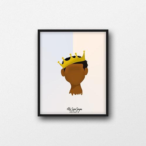 Young King Art Print