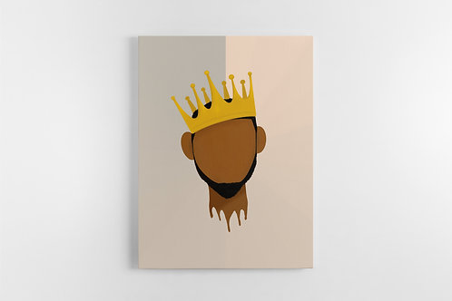 Black King Canvas