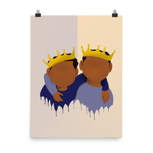Two Young Kings(Brothers) Poster