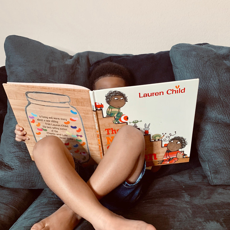 TODDLER READING TIME
