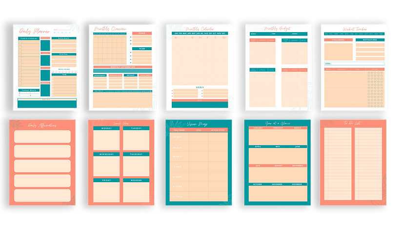 Planner Templates
