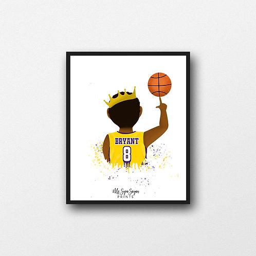 Kobe Printable Art