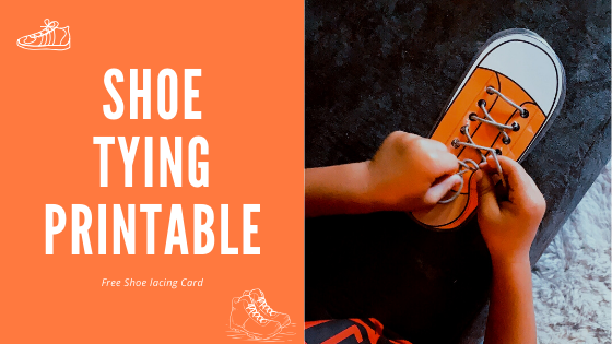 SHOE TYING PRINTABLE