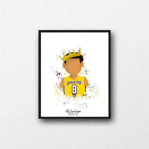Kobe Bryant Art Printable