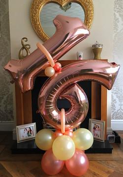16th Birthday Display