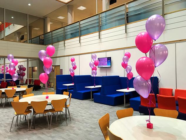 Kura Balloon Set up
