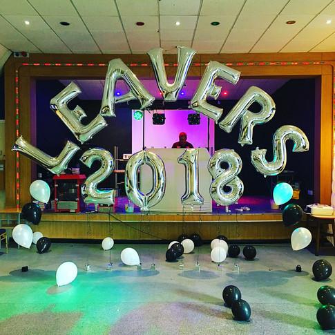School Leaver's Event
