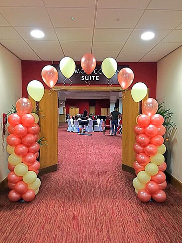 Commercial Balloon Arch