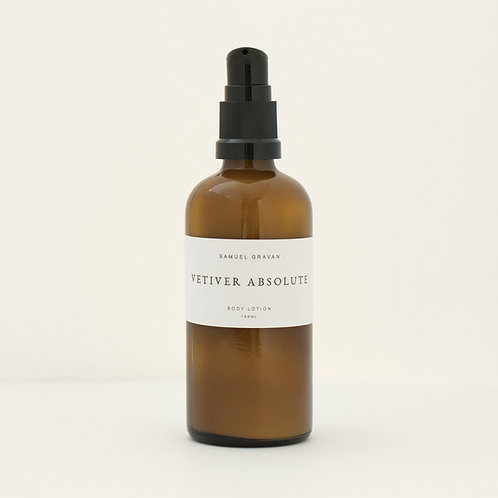 Vetiver Absolute   Body Lotion (100ml)