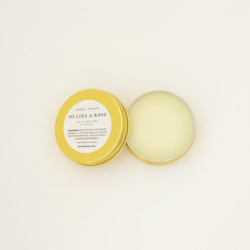 So Like a Rose | Solid Perfume (25g)