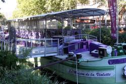 bateau violette