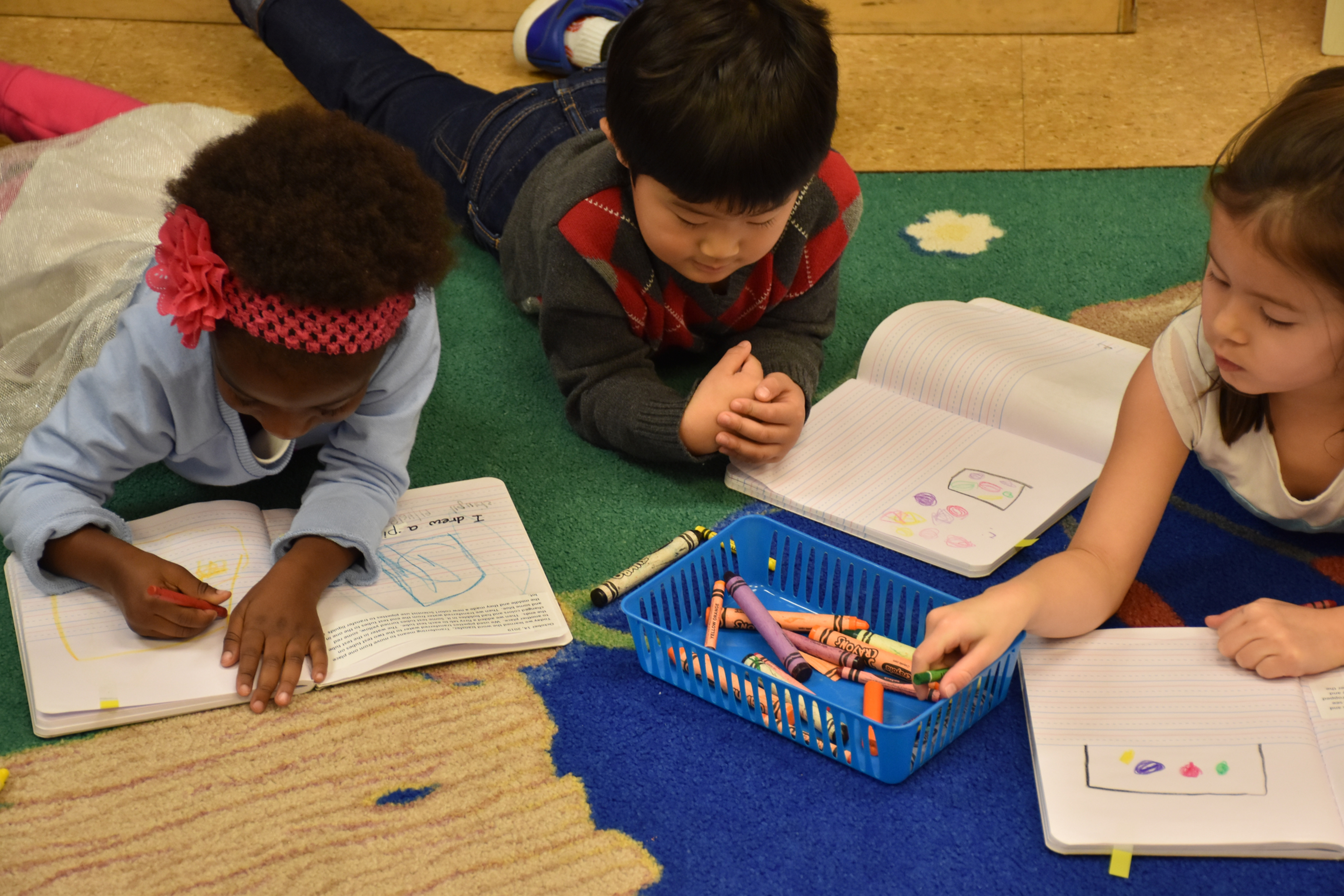 The Green/Blue Room: 4 Year Olds (Pre-K)
