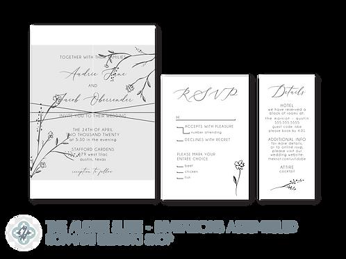 The Audrie Suite - Wedding Invitations