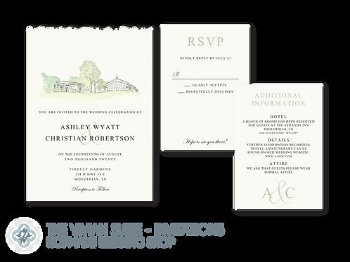 The Vivian Suite - Wedding Invitations