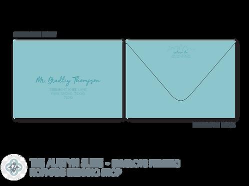 The Austyn Suite - Envelope Printing