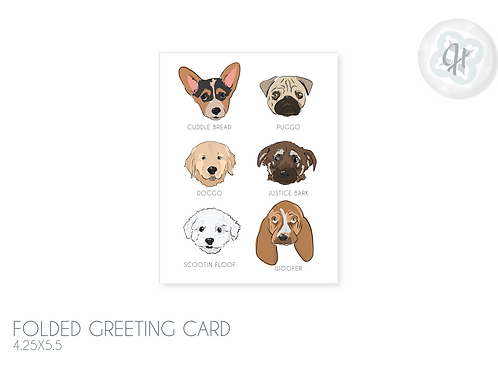 Rare Puppers Card