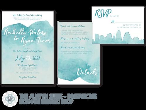 The Austyn Suite - Wedding Invitations