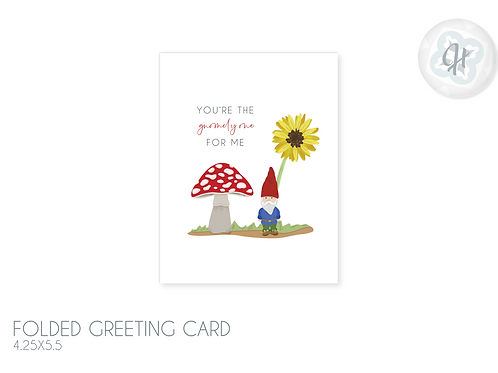 My Gnomely Love Card