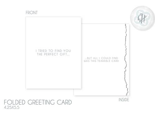 Tearable Card