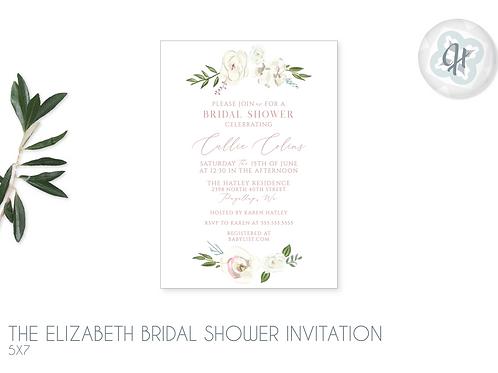 The Elizabeth - Bridal Shower Invitations