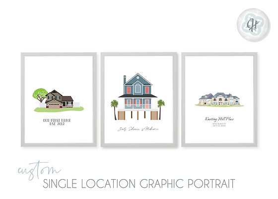 Single Location Graphic Portrait