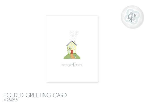 Home Sweet Home Housewarming Card