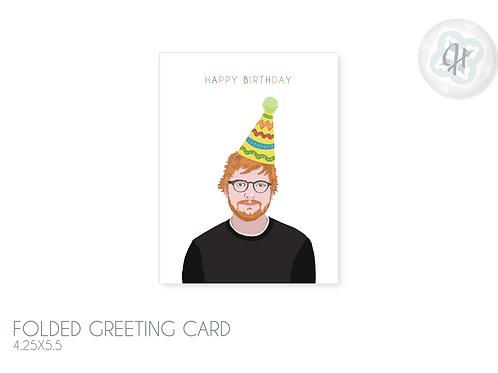 The ED Birthday Card