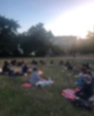 full moon ritual event yoga berlin