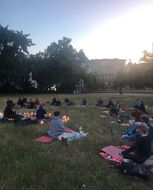 full moon ritual event yoga berlin