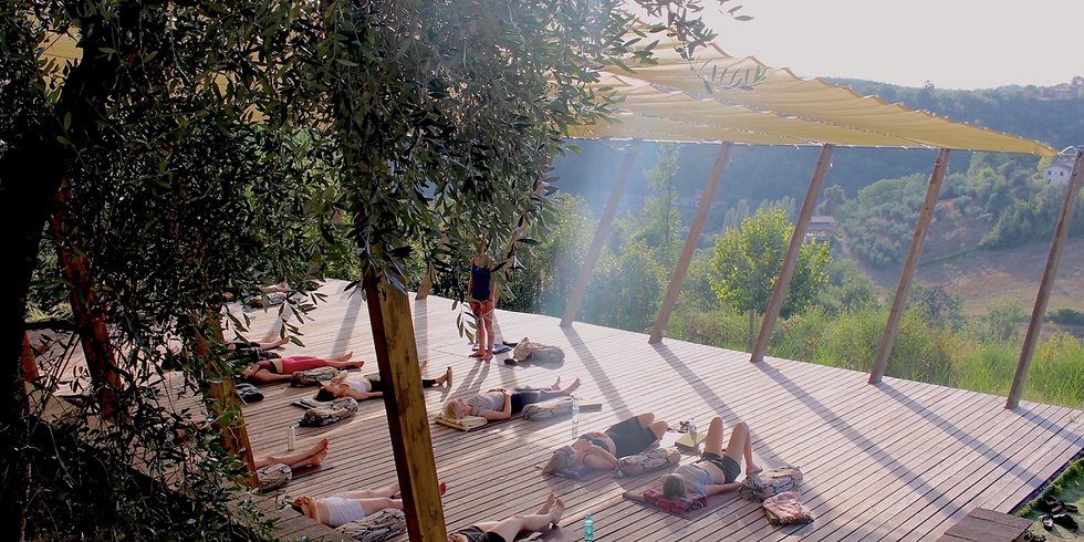 **FULLY BOOKED** Full Bloom - Holistic Yoga Retreat in Italy