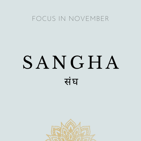 Focus of the Month - November