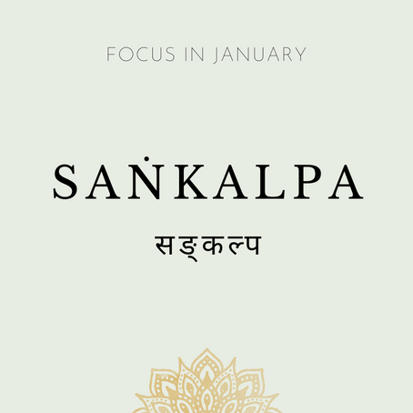 Focus of the Month - January