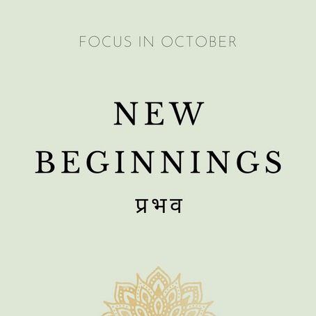 Focus of the Month - October