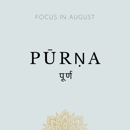 Focus of the Month - August