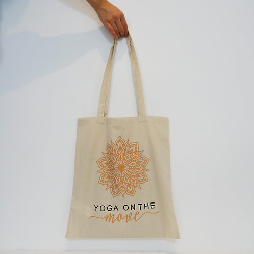 Yoga on the Move - Jute Bag