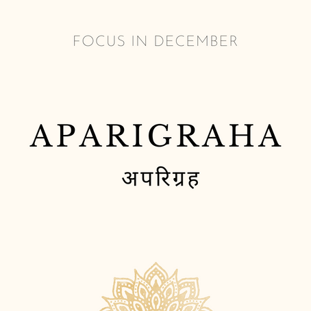 Focus of the Month - December