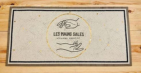 La mosaïque pour les @les_mains_sales_pa