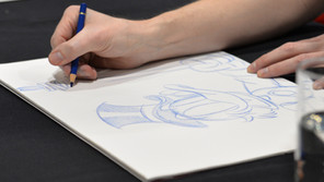 Sketching success - from caricatures to landscapes