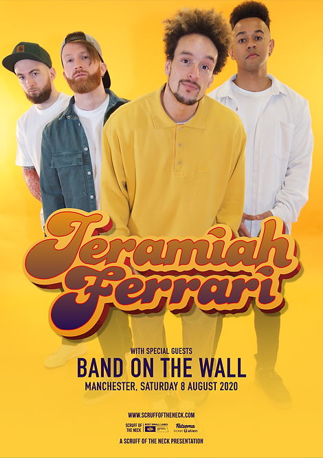 Aug 8th Manchester Band on the Wall Headline Show : Link below